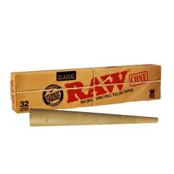 Raw Classic Conos King Size Slim (32 Conos)