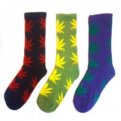 Calcetines Cannabicos colores variados