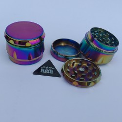 DRUM GRINDER - RAINBOW (39MM) CHAMP HIGH