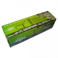 Bombilla Pure Light CFL 125 W Green Power