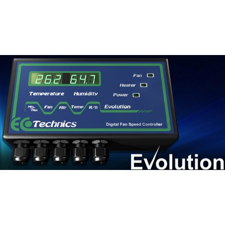 Evolution Temperature & Humidity Fan Speed Controller