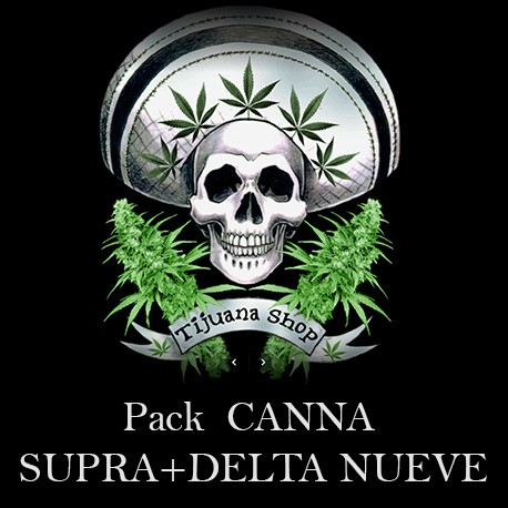 PACK CANNA SUPRA+DELTA NUEVE