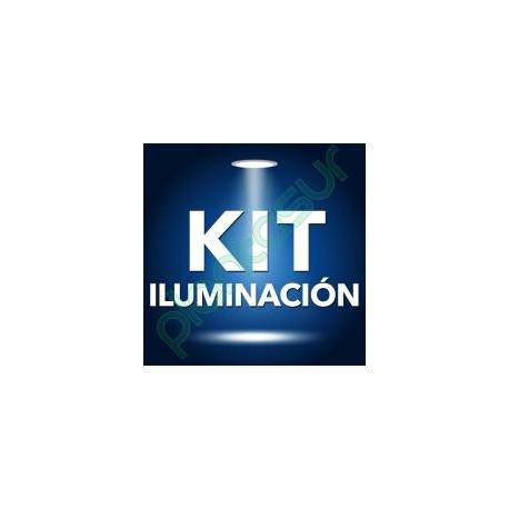 KIT BALASTRO 600 W PURE LIGHT PLUG & PLAY V2 + REFLECTOR STUCO + PURE LIGHT HPS 600 W GROW-BLOOM MAX