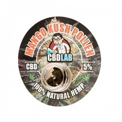 Hachís MANGO KUSH CBD CBDLab (1 gramo)
