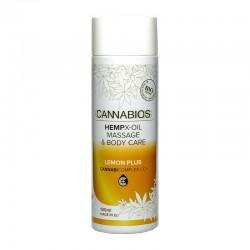 Cannabios Aceite masaje X-Oil Lemon Plus