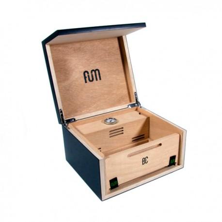 Caja Curación FUM Mediana Negro 25 x 23 x 14 cm. 50/60gr.