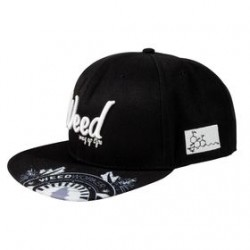 Gorra plana Way of life by WeedWorker Negra