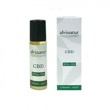 Alvinatur Aceite Roll On CBD - Fácil aplicacion 14 ml.