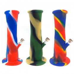 Bong Silicona 22 cm. Plegable Colores