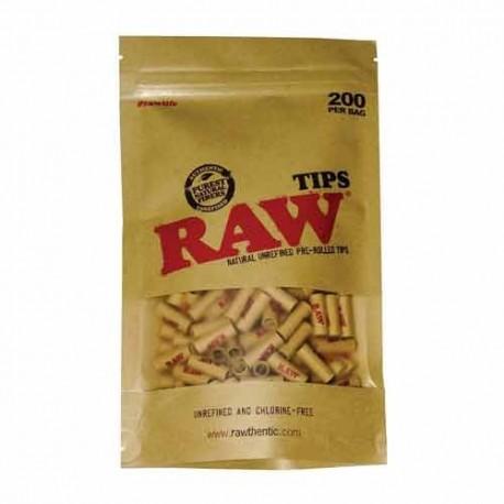 Raw Bolsa 200 Filtros Prerolled