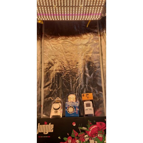 KIT ARMARIO ECO 60x60 con LED  JACKSON GROW THE JUNGLE 150 WTS