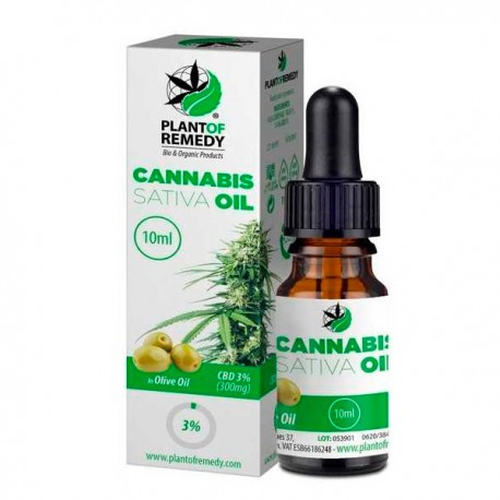 CBD Olive Plant of Remedy (Plant of Life) 3 % - 10 ml.