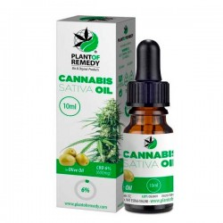 CBD Olive Plant of Remedy (Plant of Life) 6 % - 10 ml.