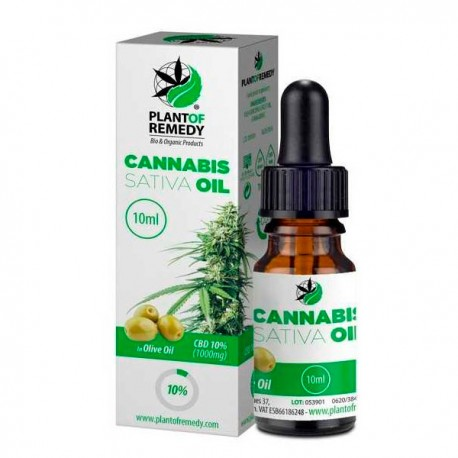 CBD Olive Plant of Remedy (Plant of Life) 10 % - 10 ml.