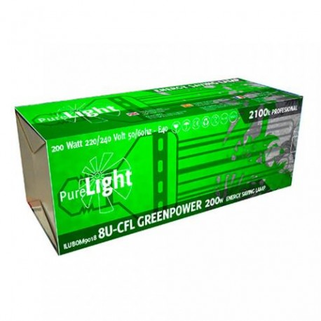 Bombilla Pure Light CFL 200 W Green Power