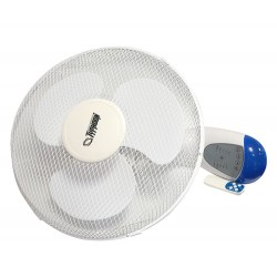 Ventilador Wall Fan con mando 40 cm Typhoon