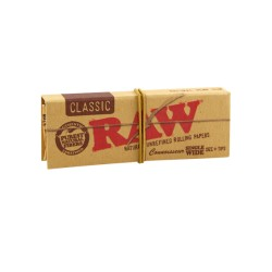 Papel Raw King Size con boquillas