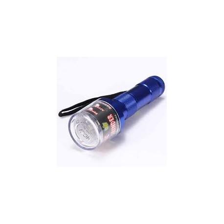 Grinder Aluminio Eléctrico Linterna